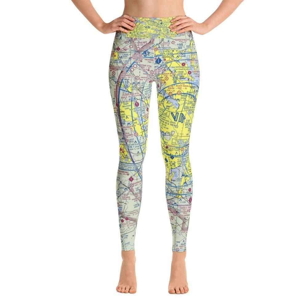 Dallas Sectional Yoga Leggings - RadarContact - ATC Memes