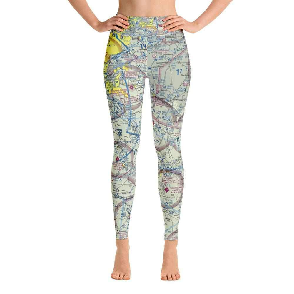 Cincinnati Sectional Yoga Leggings - RadarContact - ATC Memes