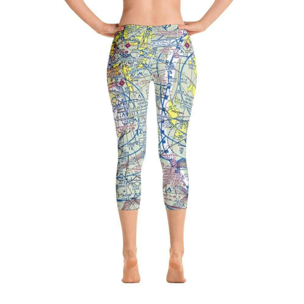 Washington DC Sectional Capri Leggings