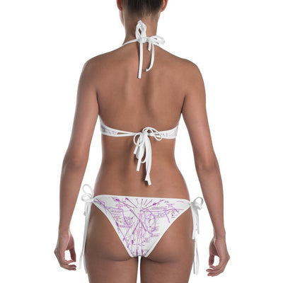 San Antonio Low Altitude/Sectional (Inverted) Bikini