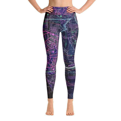 San Diego Sectional Yoga Leggings (Inverted)