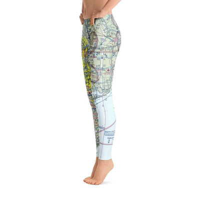 Houston Sectional Leggings - RadarContact - ATC Memes