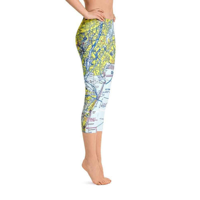 New York Sectional Capri Leggings