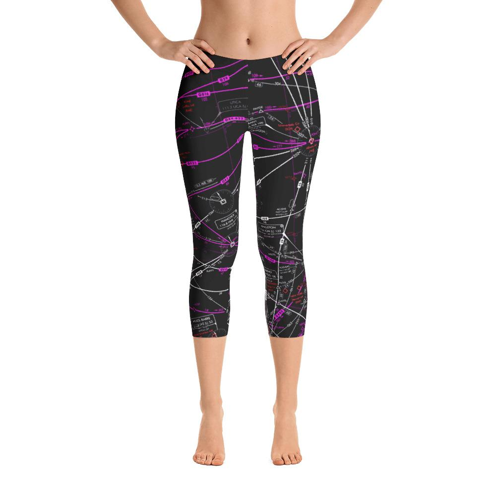 Albany High Altitude Capri Leggings (Inverted) - RadarContact