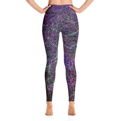 Philadelphia Sectional Yoga Leggings (Inverted) - RadarContact