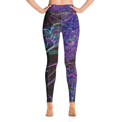 New York Sectional Yoga Leggings (Inverted)