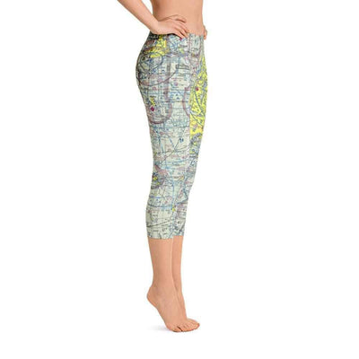 Chicago Sectional Capri Leggings - RadarContact - ATC Memes