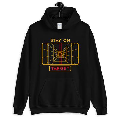 Stay On Target Unisex Hoodie Sweatshirt