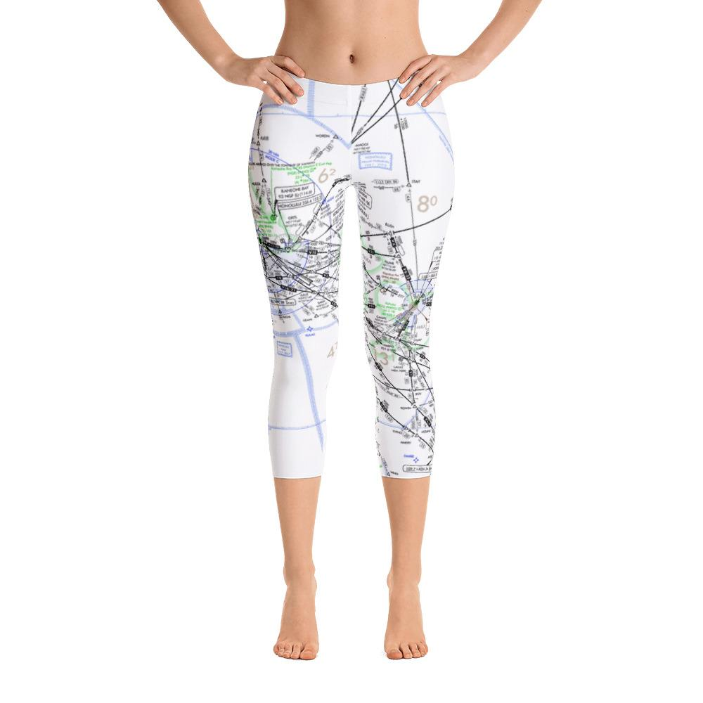 Hawaii High Altitude Capri Leggings - RadarContact - ATC Memes