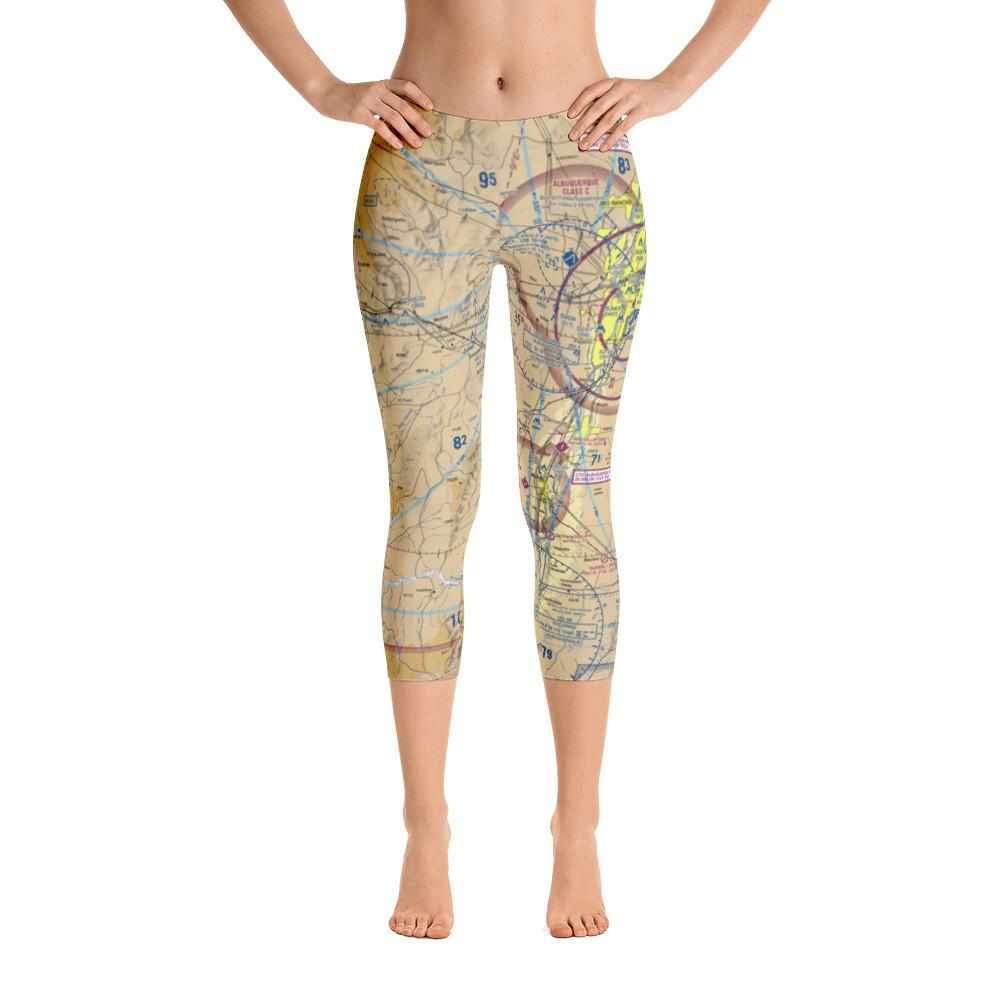 Albuquerque Sectional Capri Leggings - RadarContact - ATC Memes