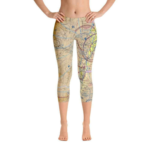 Albuquerque Sectional Capri Leggings - RadarContact