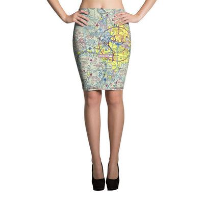 Portland Sectional Pencil Skirt