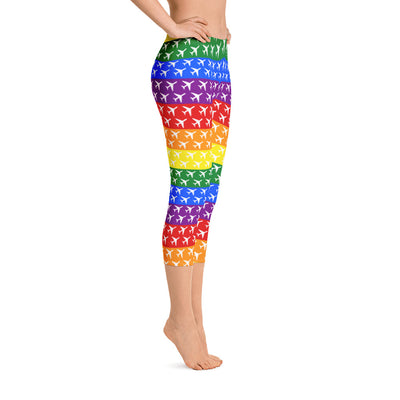 Aviation Pride Capri Leggings