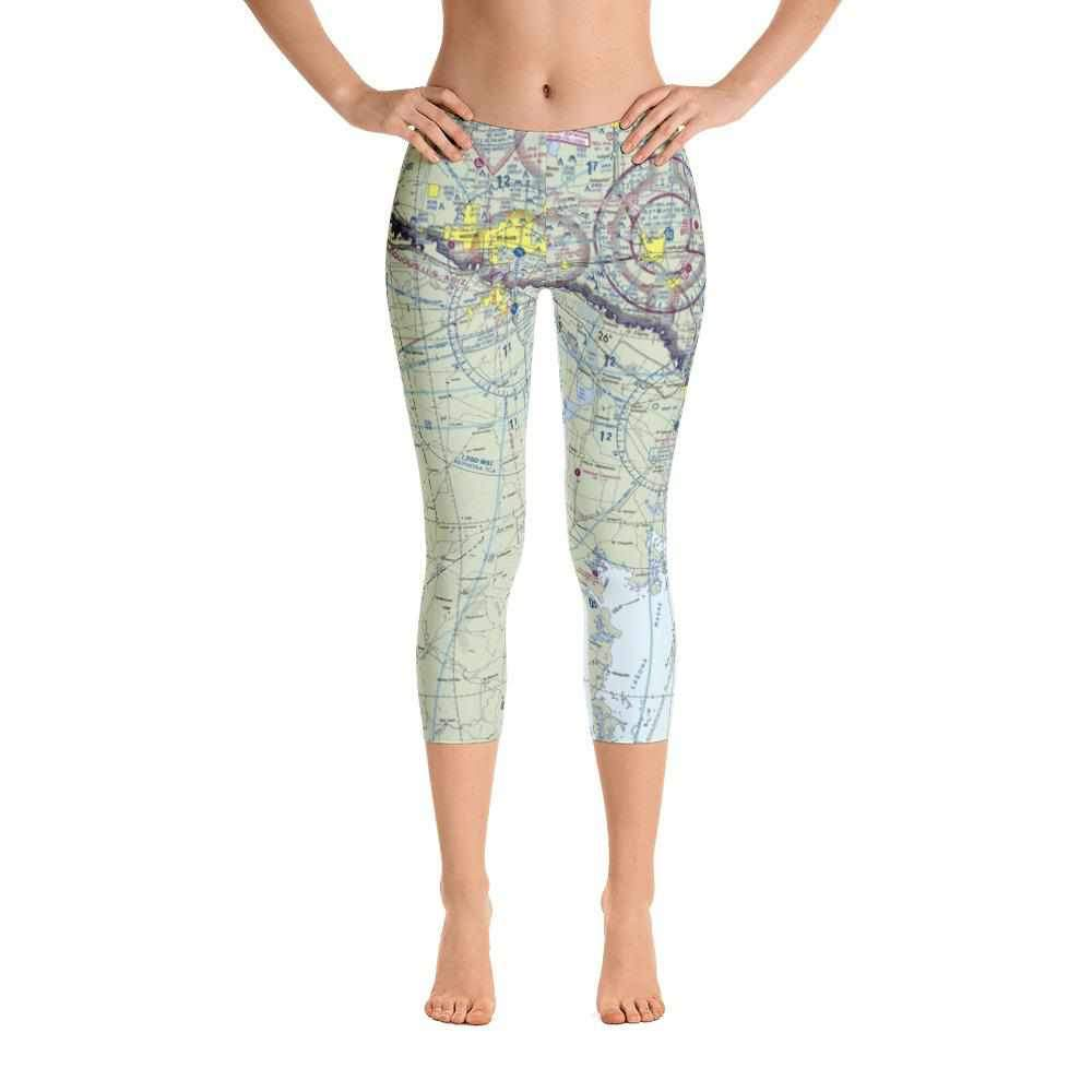Brownsville Sectional Capri Leggings - RadarContact - ATC Memes