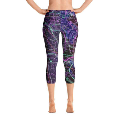 Tampa Sectional Capri Leggings (Inverted)