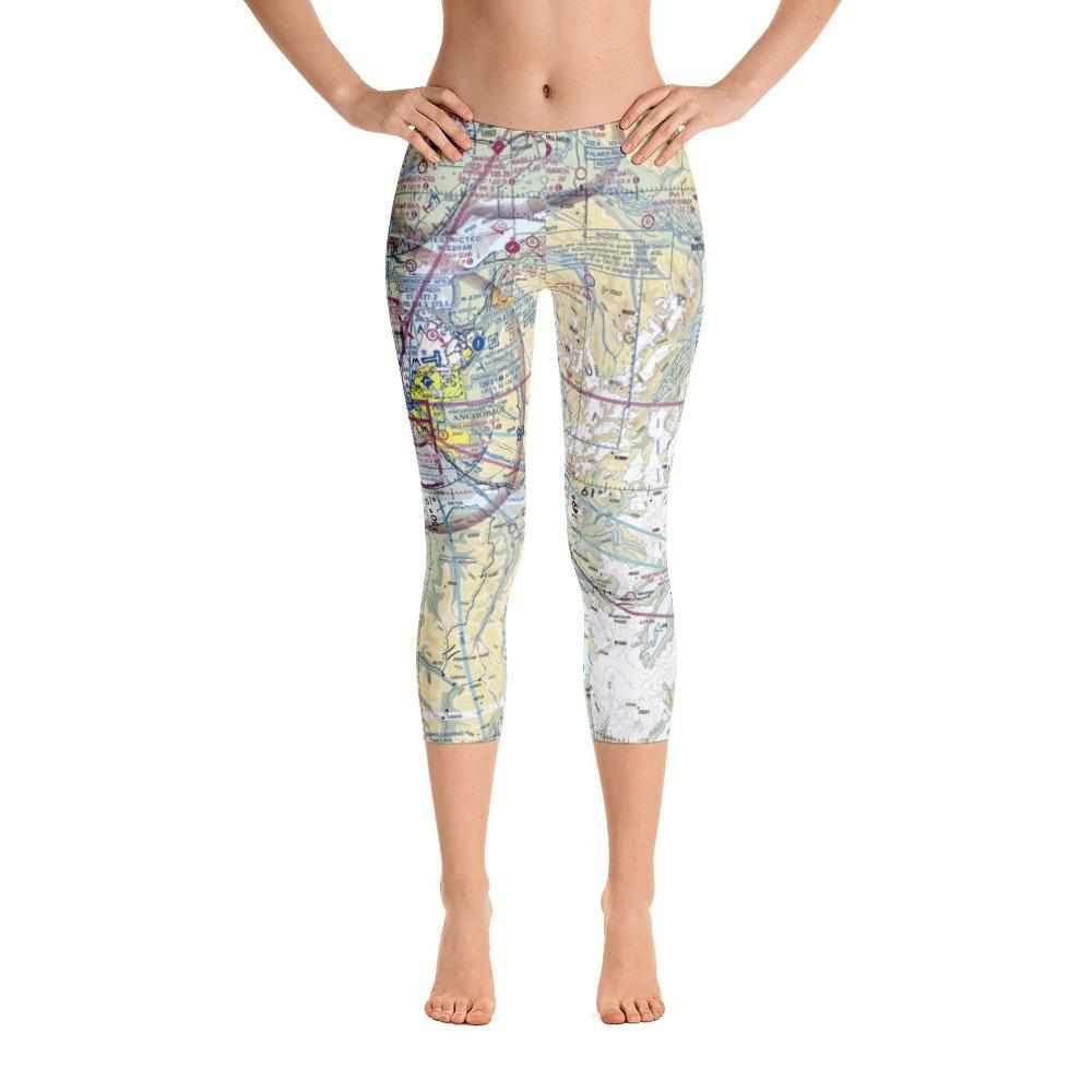 Anchorage Sectional Capri Leggings - RadarContact