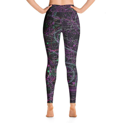 Minneapolis Sectional Yoga Leggings (Inverted)
