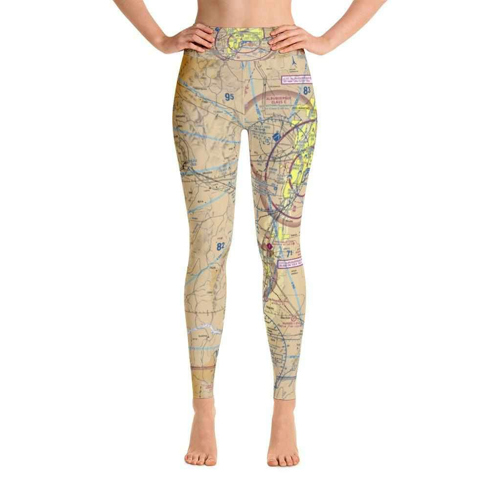 Albuquerque Sectional Yoga Leggings - RadarContact