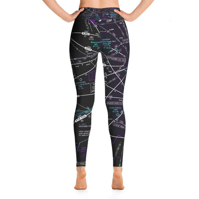 Houston Low Altitude Yoga Leggings (Inverted) - RadarContact