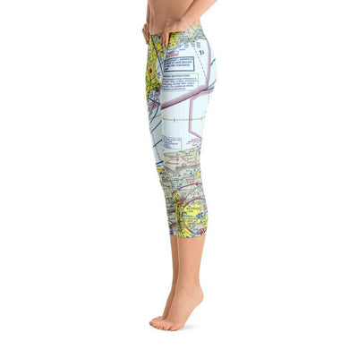 Toronto Sectional Capri Leggings