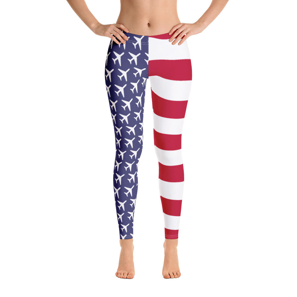 American Aviation Pride Leggings - RadarContact