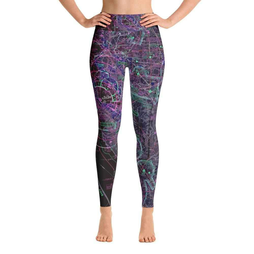 San Francisco Sectional Yoga Leggings (Inverted) - RadarContact
