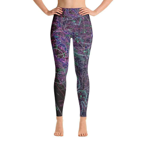 San Francisco Sectional Yoga Leggings (Inverted)