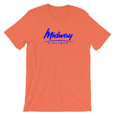 Retro Midway Airlines T-Shirt - RadarContact