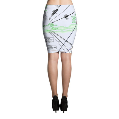 New York Low Altitude Pencil Skirt