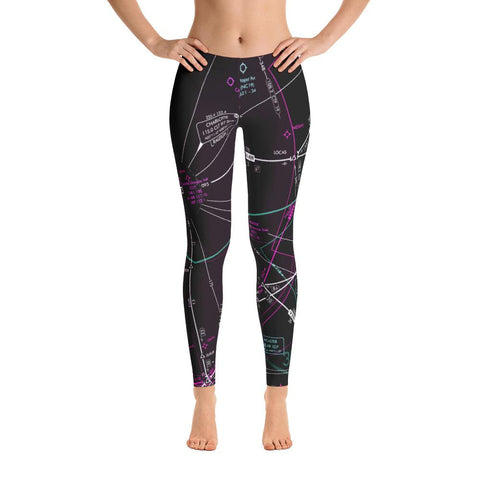Charlotte Low Altitude Leggings (Inverted) - RadarContact - ATC Memes