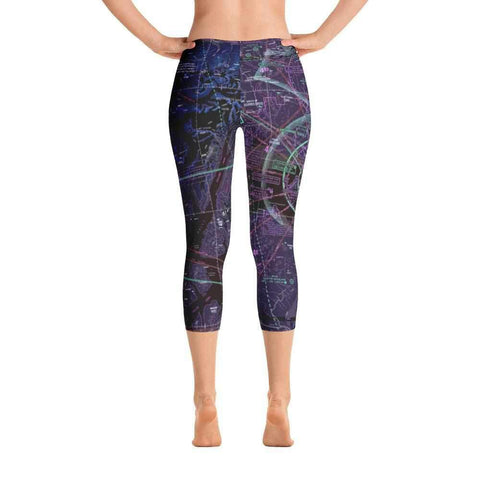 Anchorage Sectional Capri Leggings (Inverted) - RadarContact - ATC Memes
