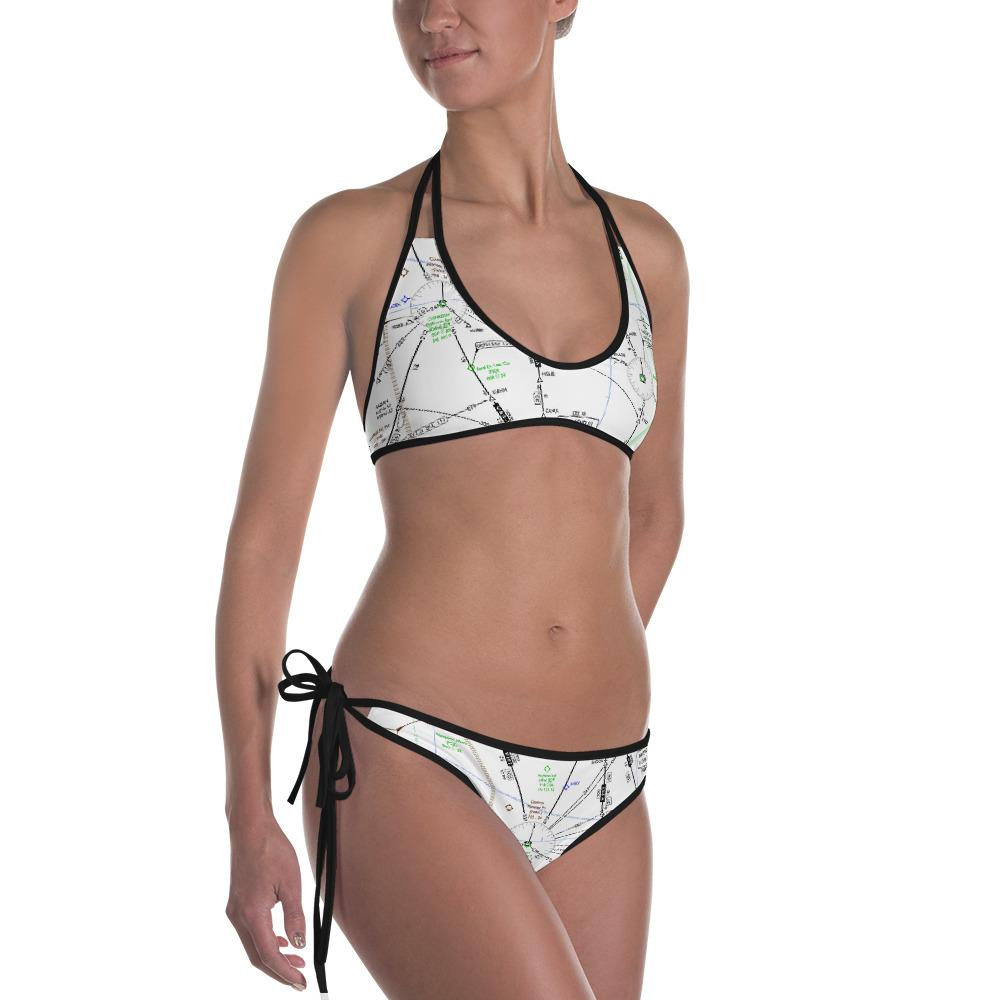 Oshkosh Low Altitude Two Piece Swimsuit (Reversible)