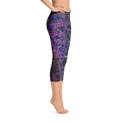 San Diego Sectional Capri Leggings (Inverted)