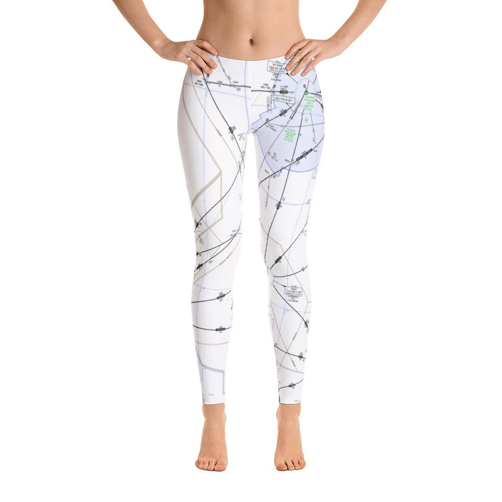Las Vegas Low-Altitude Leggings - RadarContact - ATC Memes