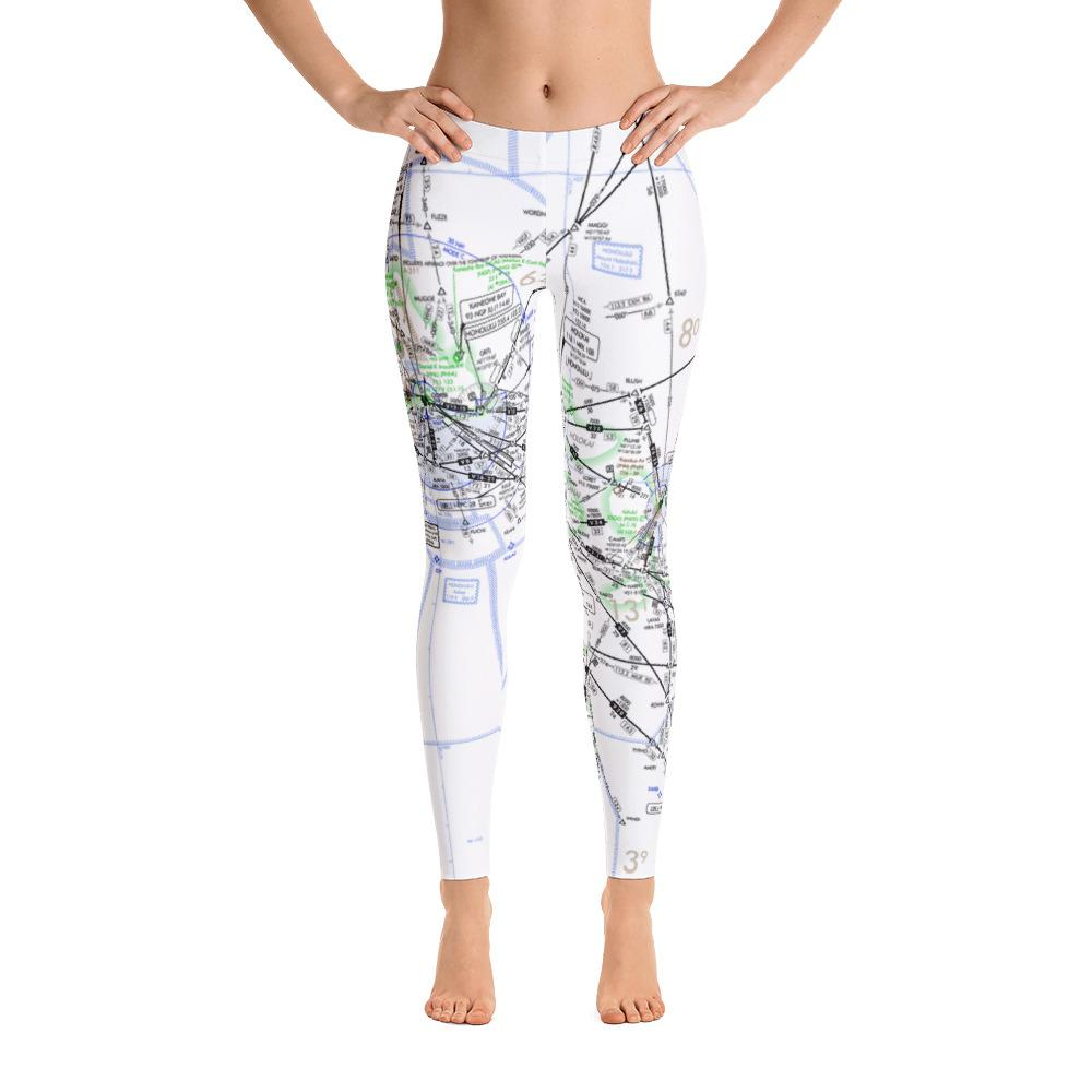 Hawaii High Altitude Leggings - RadarContact - ATC Memes
