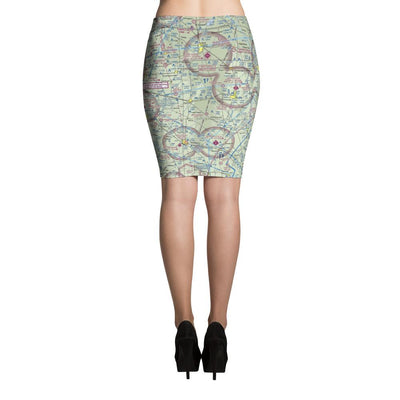 Indianapolis Sectional Pencil Skirt - RadarContact - ATC Memes