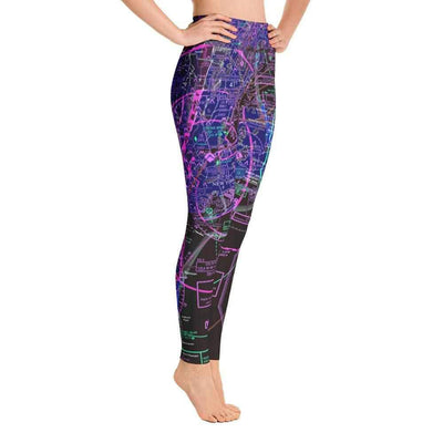 New York Sectional Yoga Leggings (Inverted) - RadarContact