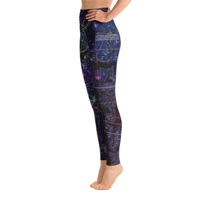 Anchorage Sectional Yoga Leggings (Inverted) - RadarContact - ATC Memes