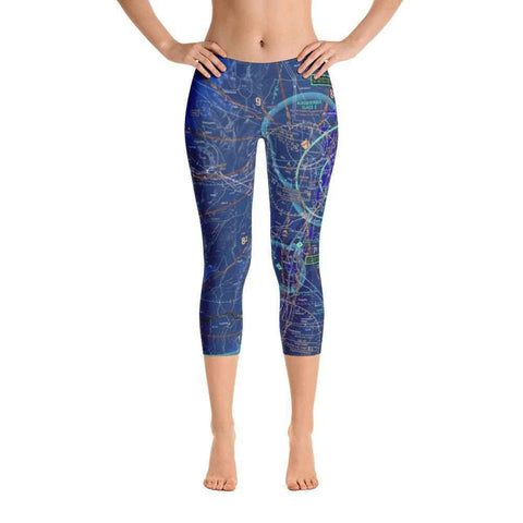 Albuquerque Sectional Capri Leggings (Inverted) - RadarContact - ATC Memes