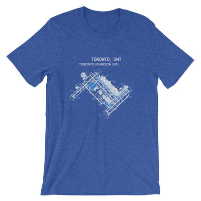 Toronto Airport Diagram Unisex T-Shirt