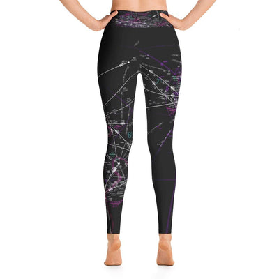 Hawaii High Altitude Yoga Leggings (Inverted) - RadarContact - ATC Memes