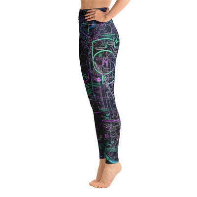 Colorado Springs Sectional Yoga Leggings (Inverted) - RadarContact - ATC Memes