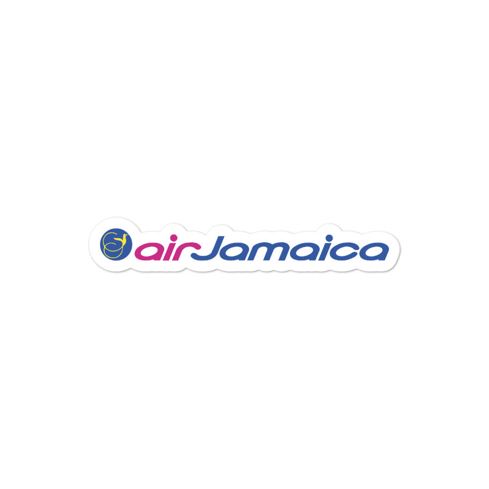 Retro Air Jamaica Sticker - RadarContact