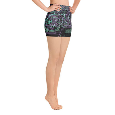 Pensacola Sectional Yoga Shorts (Inverted)