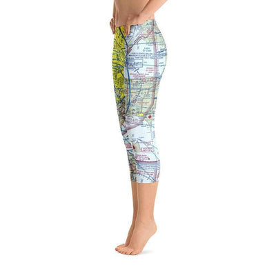 Detroit Sectional Capri Leggings - RadarContact