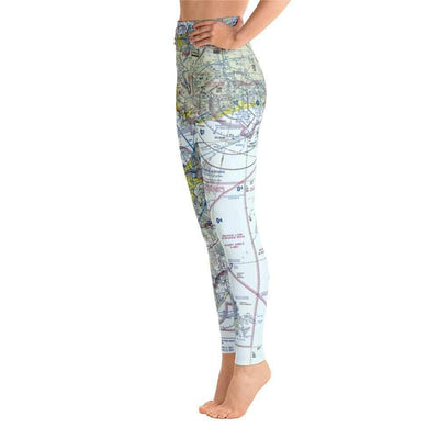 New Orleans Sectional Yoga Leggings
