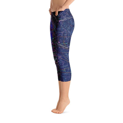 Seattle Sectional Capri Leggings (Inverted)