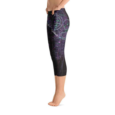 Brownsville Sectional Capri Leggings (Inverted) - RadarContact - ATC Memes