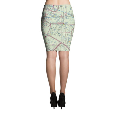 San Antonio Sectional Pencil Skirt