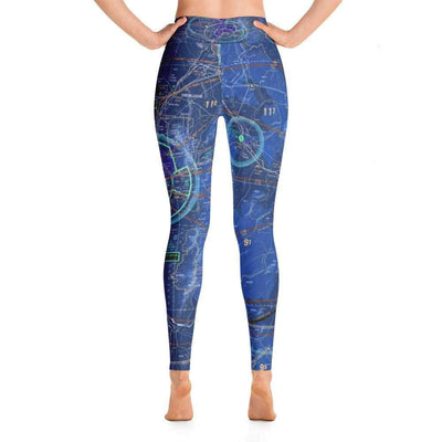 Albuquerque Sectional Yoga Leggings (Inverted) - RadarContact - ATC Memes